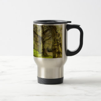 Battersea Park Pagoda Art Travel Mug