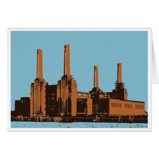 Battersea Power Station, London Card