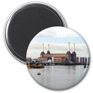 Battersea Power Station, London, UK 2 Inch Round Magnet