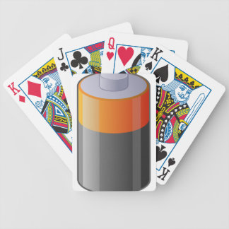 Battery Bicycle Playing Cards