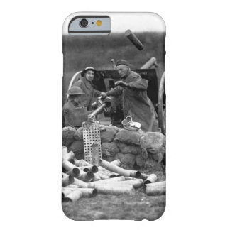 Battery C, 6th Field Artillery, fired_war image Barely There iPhone 6 Case