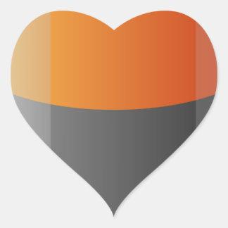 Battery Heart Sticker