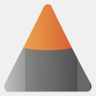 Battery Triangle Sticker