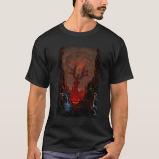 Battle at Dragon Doom Pass T-Shirt