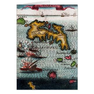 Battle At Sea Card