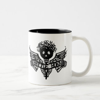 Battle Born Angelina (Lft Handed) Two-Tone Coffee Mug