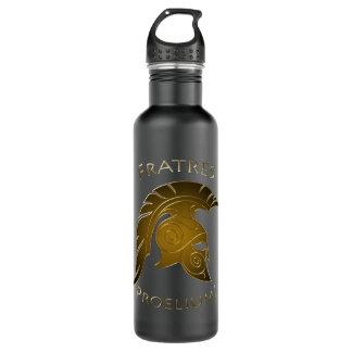 Battle Bronze Spartan Warrior Pine 710 Ml Water Bottle