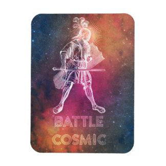 Battle Cosmic Rectangular Photo Magnet