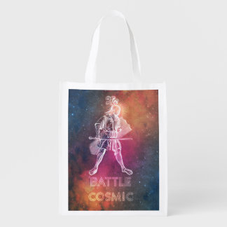 Battle Cosmic Reusable Grocery Bag