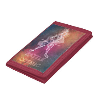 Battle Cosmic Tri-fold Wallet