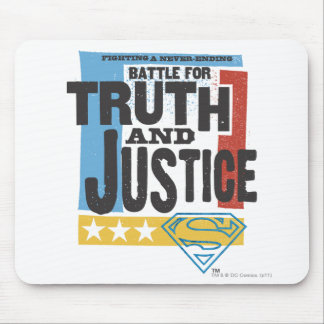Battle for Truth & Justice Mouse Pad