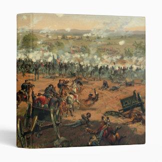 Battle Gettysburg Hancock at Gettysbug Thulstrup 3 Ring Binders