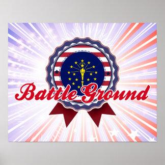 Battle Ground, IN Poster