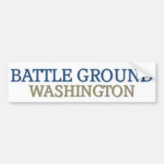 Battle Ground washington Bumper Sticker