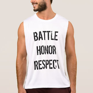 Battle Honor Respect Tank Top