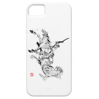 Battle & horse - Tales of ancient Japan iPhone 5 Covers