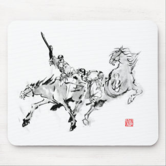 Battle & horse - Tales of ancient Japan Mouse Pad