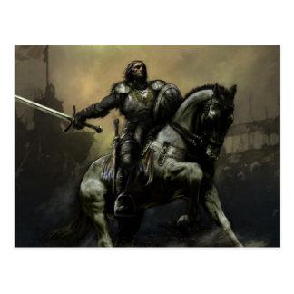 Battle Knight Postcard