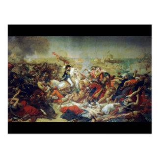 Battle of Abukir July 25 1799 by Antoine-Jean Gros Postcard