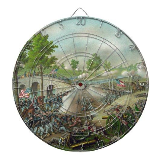 Battle of Antitam Dartboard With Darts