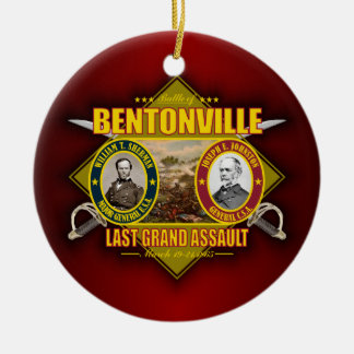 Battle of Bentonville Ceramic Ornament