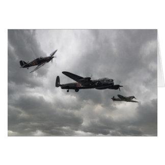 Battle of Britain Memorial Flight Card