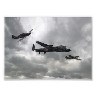 Battle of Britain Memorial Flight Photo Print