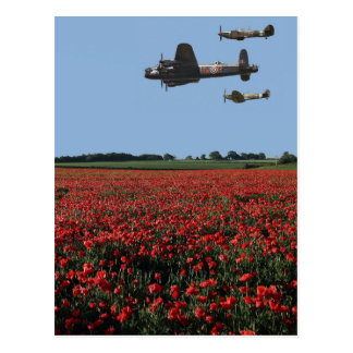 Battle of Britain Memorial Flight Postcard