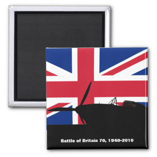 Battle Of Britain Square Magnet