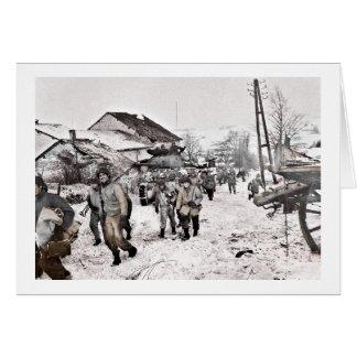Battle of Bulge Troop Recon Card