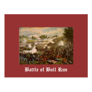 Battle of Bull Run Postcard