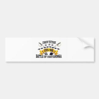 battle of  Chattanooga Bumper Sticker