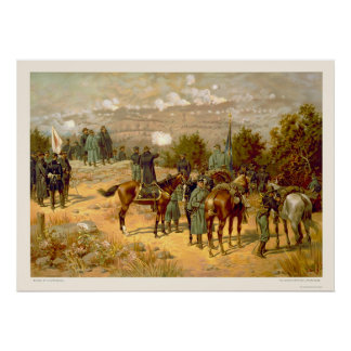 Battle of Chattanooga by L. Prang & Company 1880 Poster
