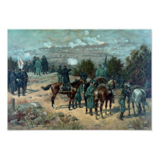 Battle Of Chattanooga - Missionary Ridge Poster