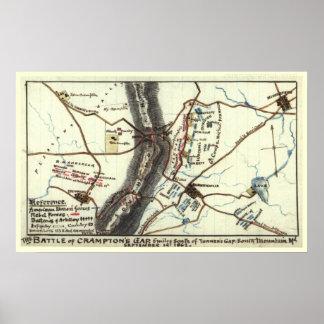 Battle of Crampton's Gap Poster