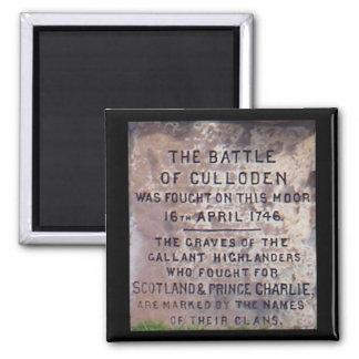 Battle of Culloden magnet