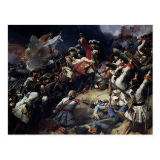 Battle of Denain, 24th July 1712, 1839 Postcard