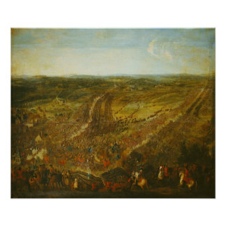 Battle of Fleurus, 1st July 1690 Poster