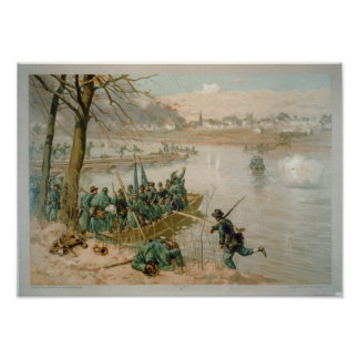 Battle of Fredericksburg Poster