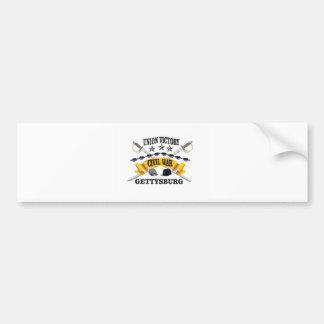 battle of Gettysburg Bumper Sticker