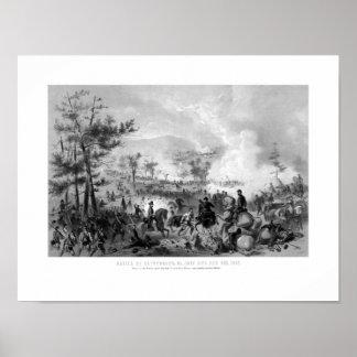Battle of Gettysburg -- Civil War Poster