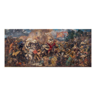 Battle of Grunwald by Jan Matejko Poster