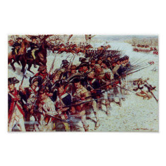 Battle of Guilford Court House Poster