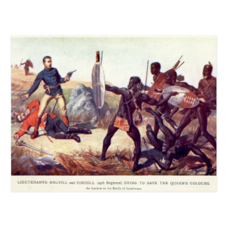 Battle of Isandlwana Postcard