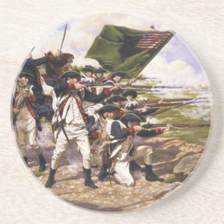 Battle of Long Island by Domenick D'Andrea Coaster