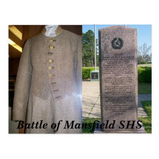 Battle of Mansfield Louisiana Postcard