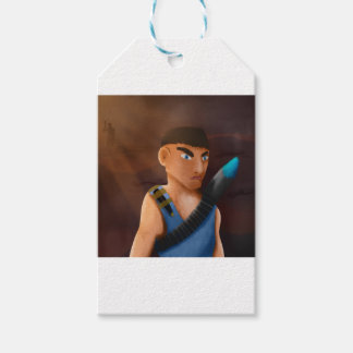 Battle of pencil gift tags