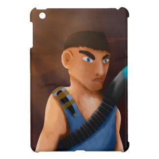 Battle of pencil iPad mini case