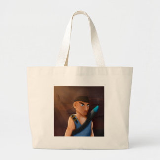 Battle of pencil large tote bag