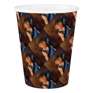 Battle of pencil paper cup